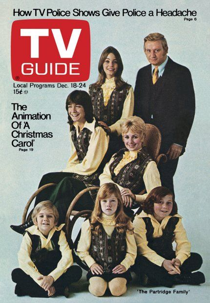 Vintage TV Guide Magazine The Partridge Family