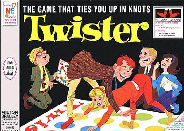 Twister Board game 1966