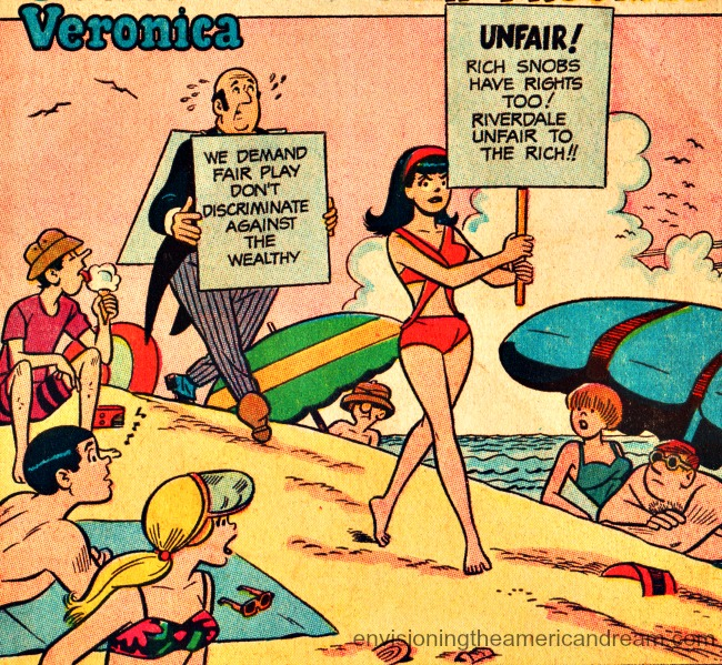 Vintage comic Veronica Lodge 1960s