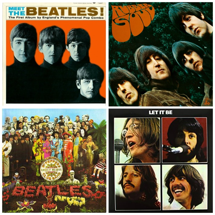 Beatle Album Covers