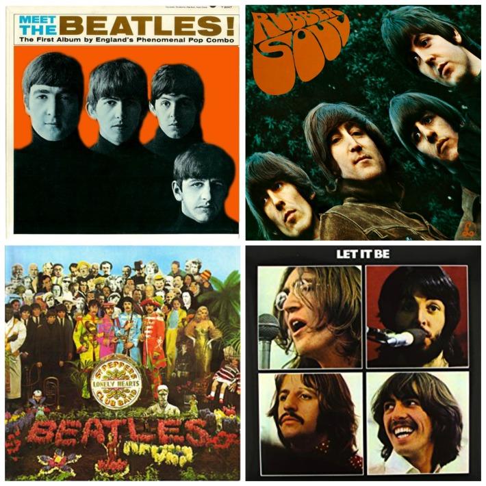 Beatle Album Covers