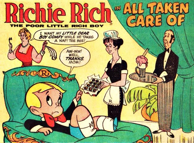 vintage Richie Rich Comic 1967