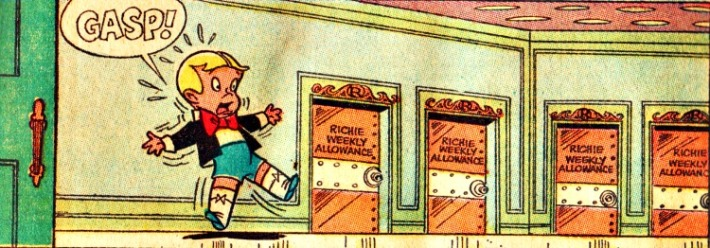 comic book character Richie Rich