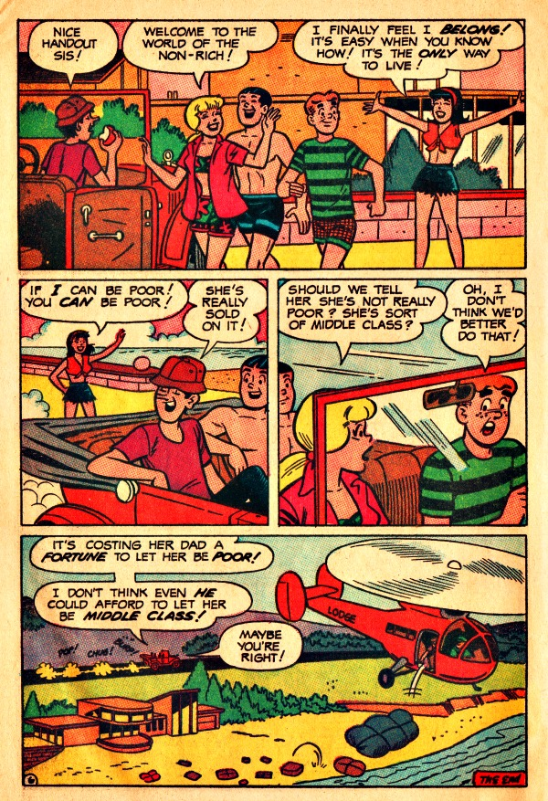 Archies Girls Betty and Veronica Comic Book 1967