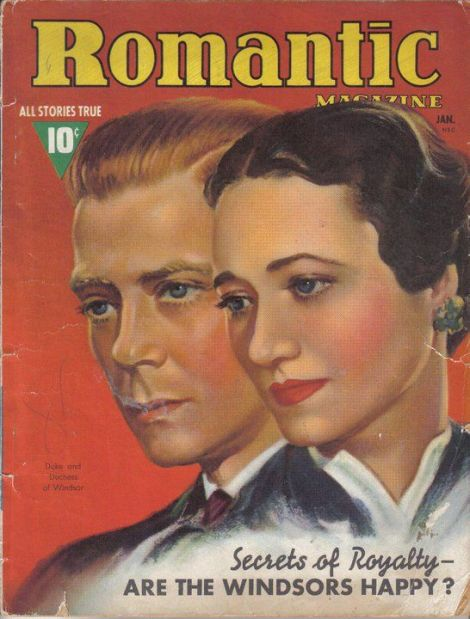 Romance Magazine Duke and Duchess of Windsor