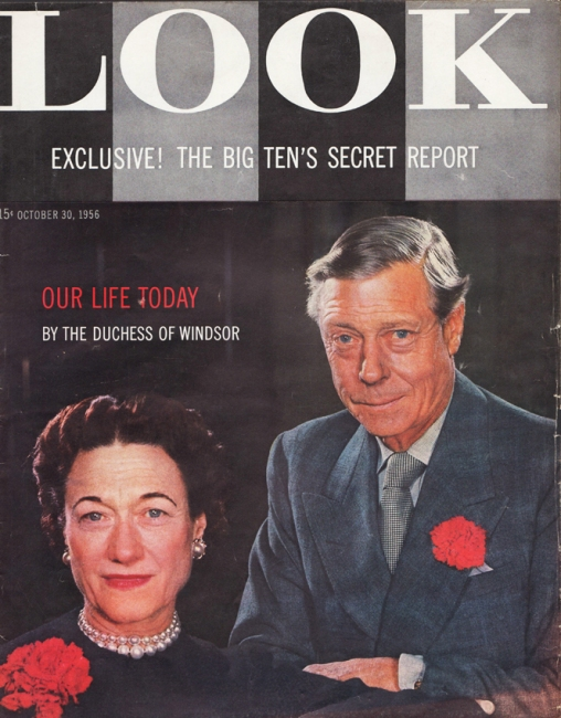 Duke and Duchess of Windsor cover of Look Magazine 1956