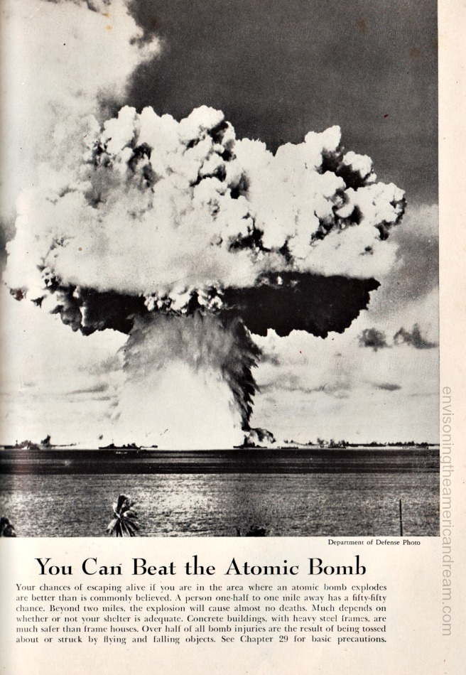 Atomic Bomb Survival advise 1951
