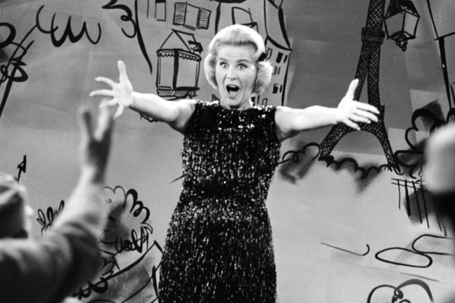 Rose Marie as Sally Rogers on Dick Van Dyke