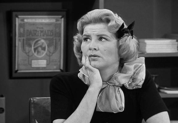 Rose Marie as Sally Rogers on Dick Van Dyke Show