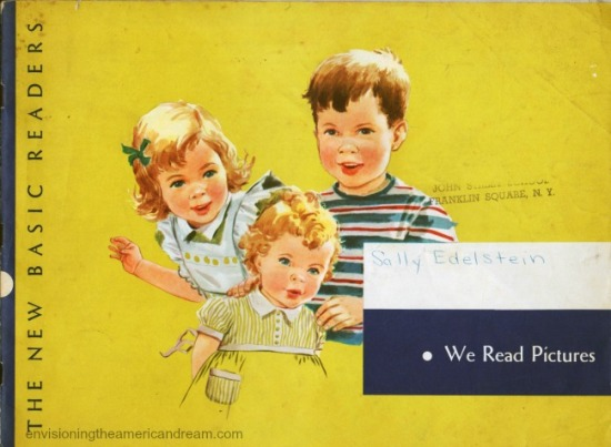 "Vintage Dick, Jane and Sally Workbook ""We Read Pictures"" 1959"