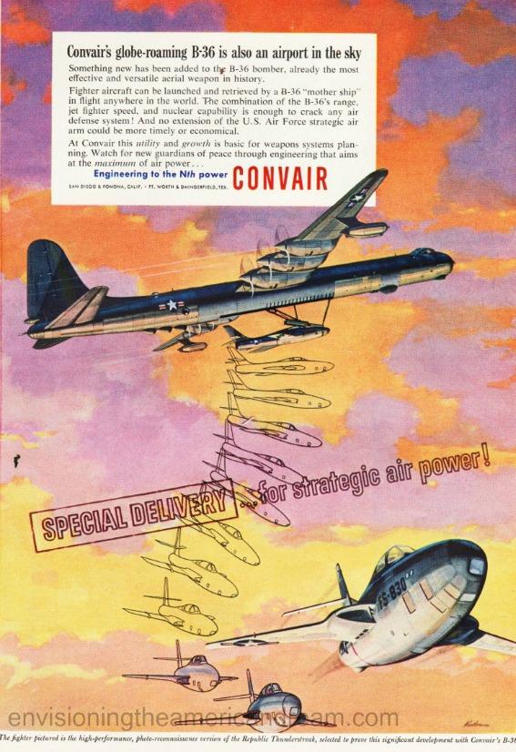 Vintage ad 1954 Convair
