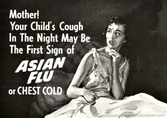 woma fear of asiatic flu