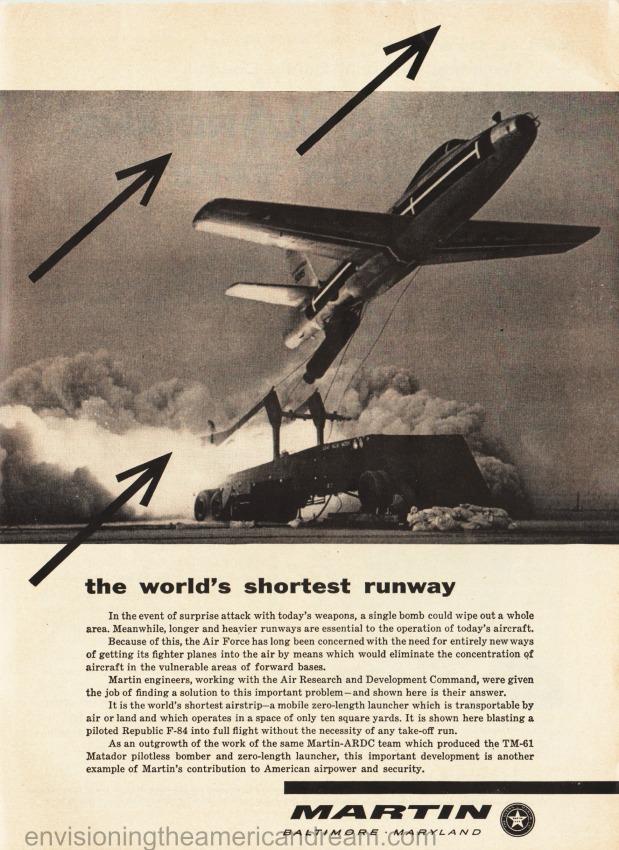 Vintage cold war ad