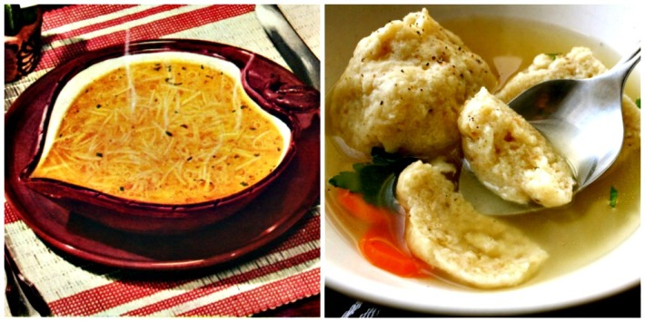 food as love chicken soup and matzo ball
