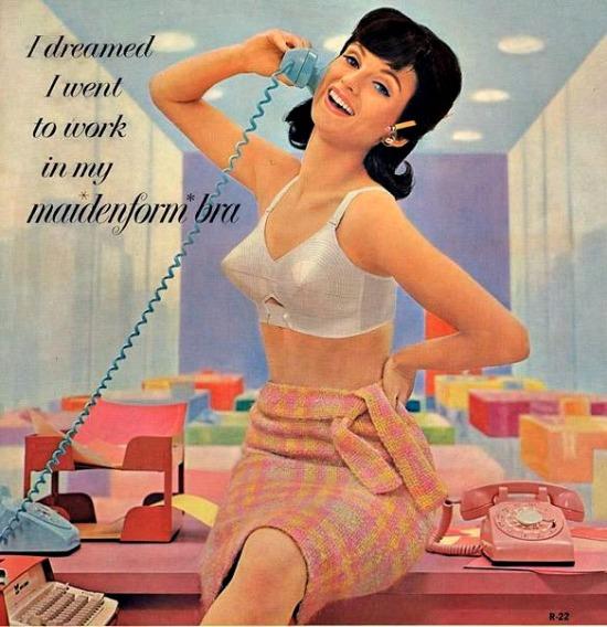 Vintage Maidenform Bra Ad