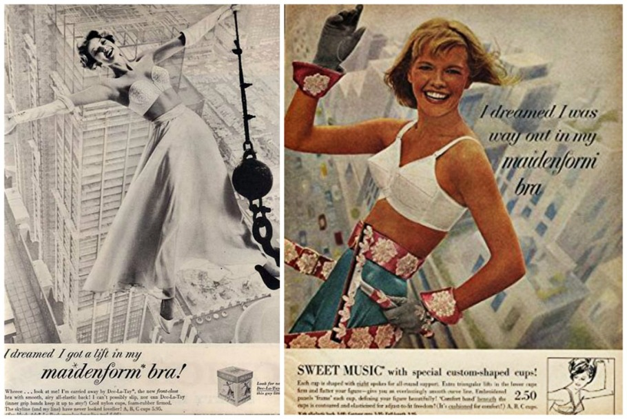 Vintage Maidenform Ads I Dreamed