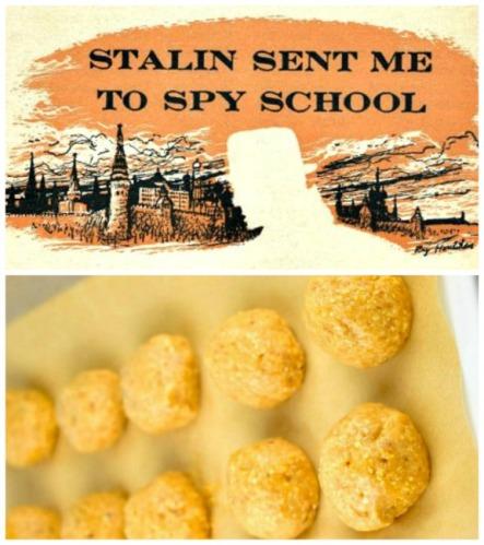 cold war spy headline and matzo ball
