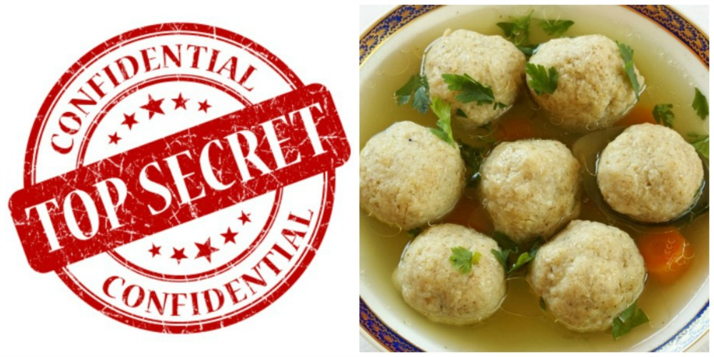 Matzo Ball Recipe Top SecretsallyedelsteinEthel and Julius Rosenberg (1951) tried and convicted and executed for transmitting nuclear weapon secrets to the Soviet UnionThe Red MenaceSecrecy in our kitchen was as strictly enforced as at the Manhattan Project (L) A billboard at Oak Ridge Facility in Tenn. which housed workers and labs that developed the Manhattan Project the WWII secret program that built the Atomic Bomb.Matzo Balls golf ball and matzo ballcold war spy headline and matzo ball(L) Women reactor workers at Oak Ridge Tenn talked little and worked hard working multiple shifts to keep the plant going 24 hrs a day in the development of the Atomic Bomb.collage Formula Nuclear Chain reaction and matzo ball soupNuclear blast and matzo ballfood as love chicken soup and matzo ball