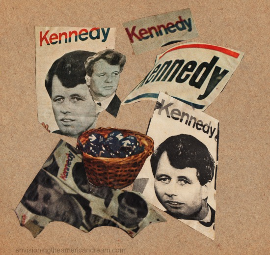 collage Kennedy Campaign posters