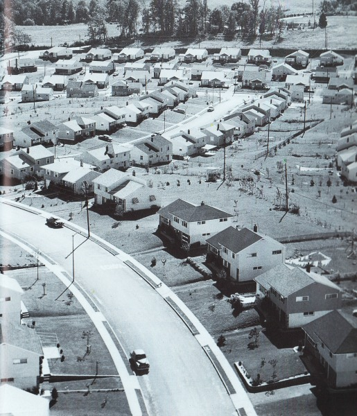 suburban developments 1950s