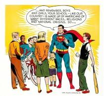 Vintage Superman Diversity