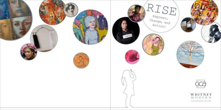 Art Invitation Rise Empower Change and Action!