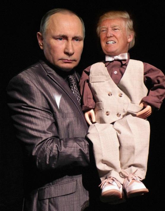 Trump Puppet Putin | Envisioning The American Dream