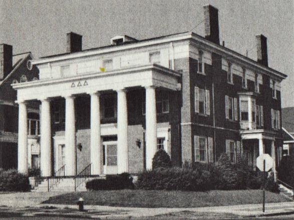 Fraternity House, Syracuse University 1973