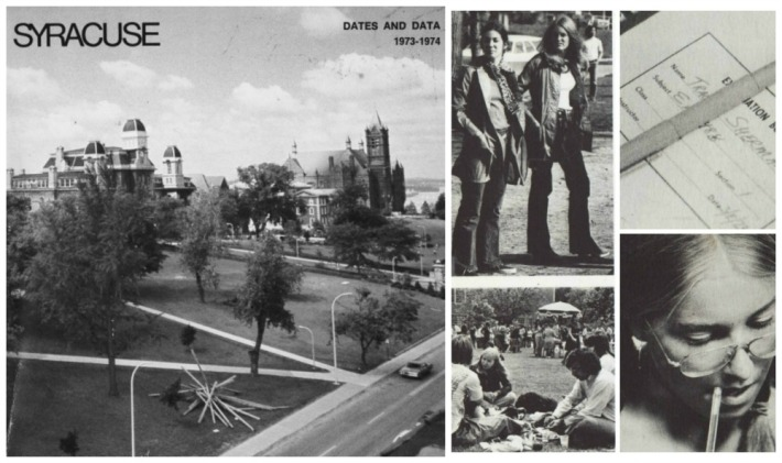 Vintage Syracuse University Student Catalogue 1973