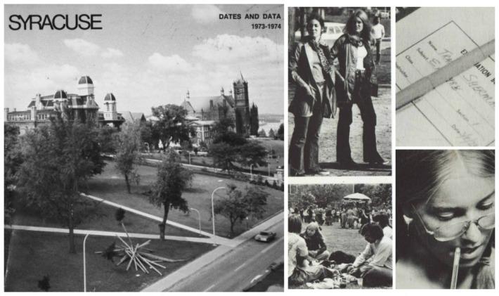 Vintage Syracuse University Student Catalogue 1973
