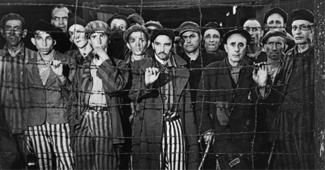 Holocaust survivors Photo by Margaret Bourke-White Life Magazine