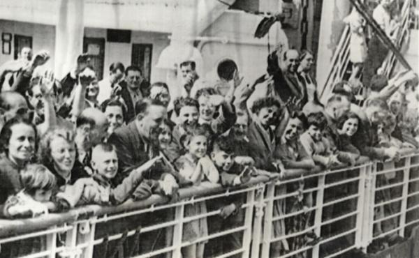 German Jewish refugees on St Louis 1939