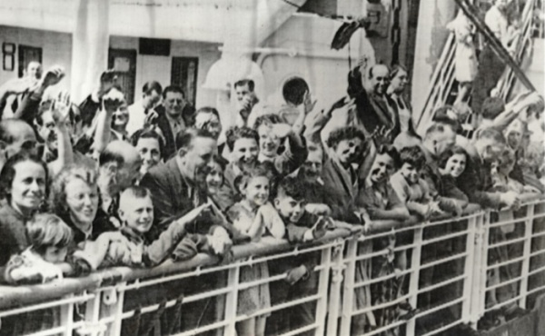 German Jewish refugees on St Louis 1939