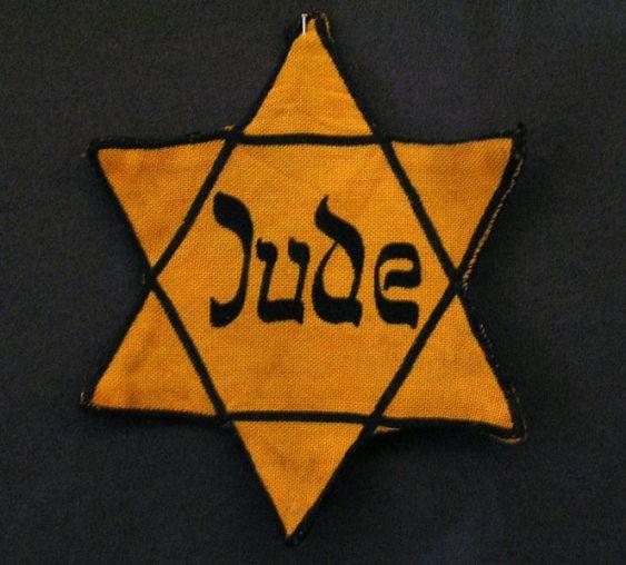 Yellow Jewish Star Jude