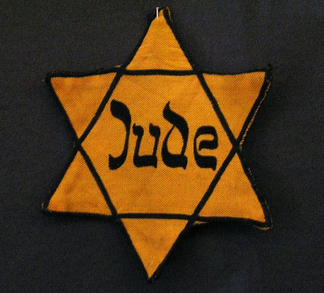 jewish-star-of-david worn by German Jews