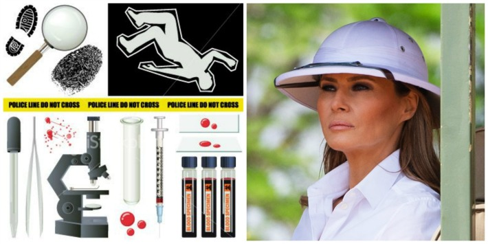 Melania Trump pith helmet
