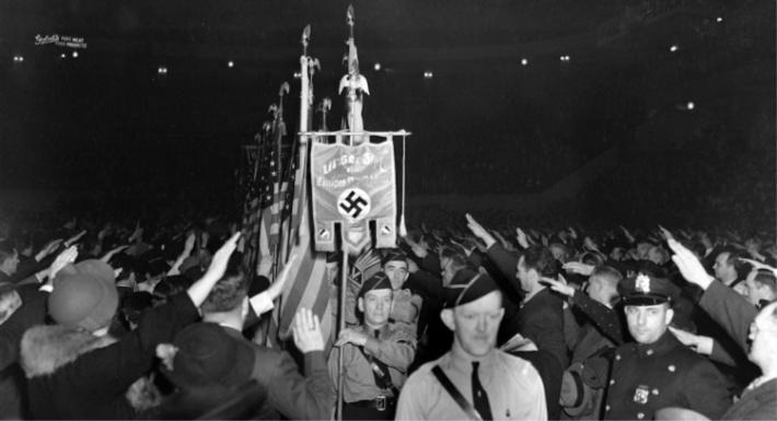 German American Bund rally NY Madison Square Garden 1939