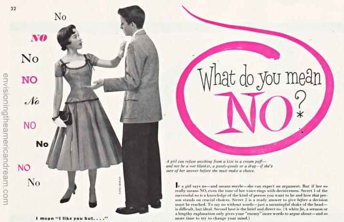 Advice Column Sub Deb Ladies Home Journal May 1955