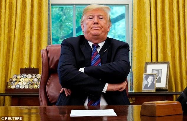 Stubborn Donald Trump