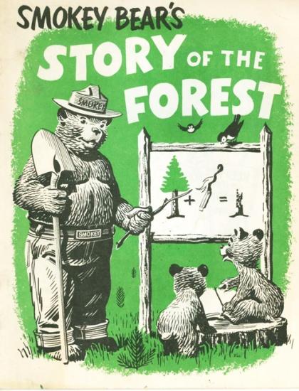 Vintage Comic Smokey Bear