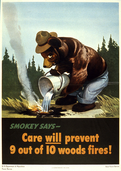 First Smokey the Bear Poster 1944