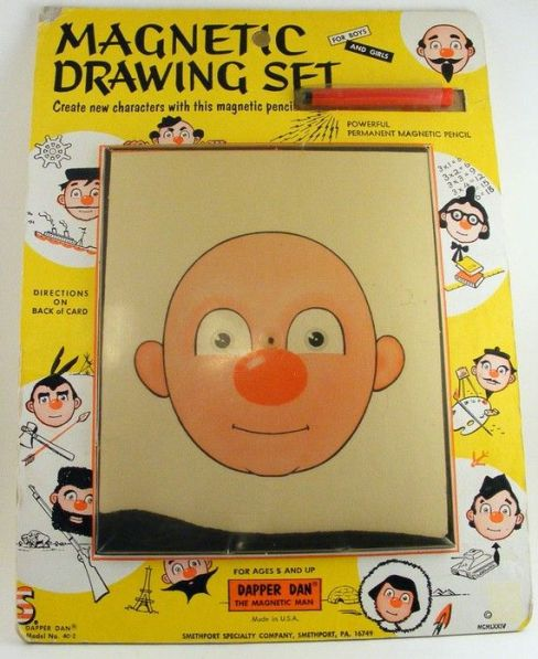 Magnetic Drawing Set Dapper Dan