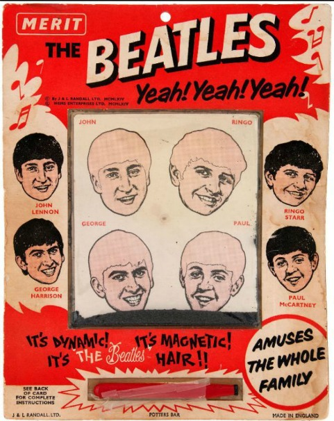 Beatles Magnetic Hair Toy