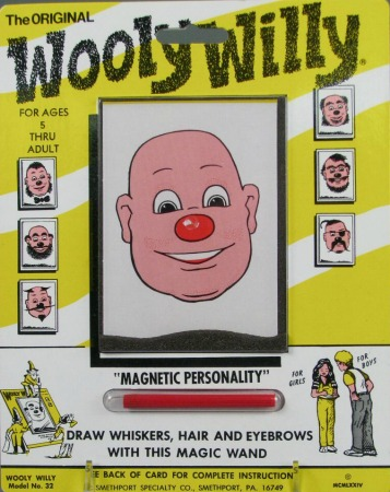 Wooly Willy Toy