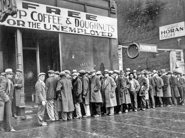 Soup Kitchen 1930's