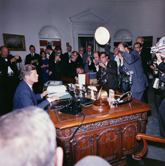 President Kennedy Cuban Missile Crisis 1962