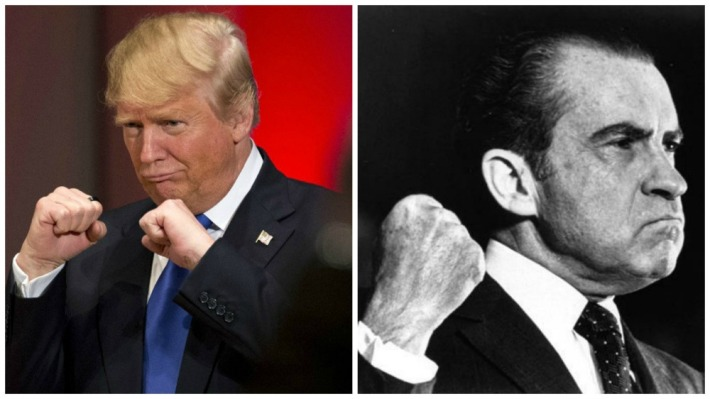Donald Trump and Richard Nixon