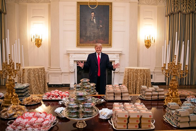 Trump and Fast Food White House