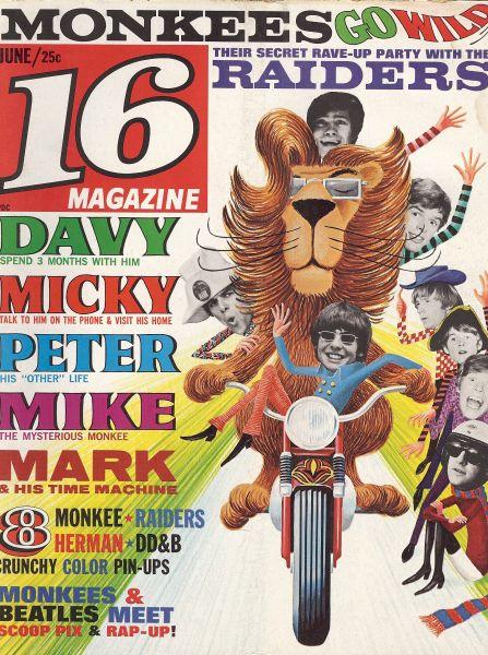 16 Magazine 1967
