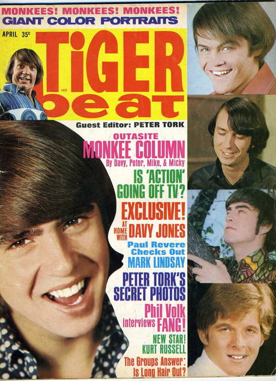 Tiger Beat Magazine 1966